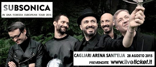 SUBSONICA IN UNA FORESTA TOUR