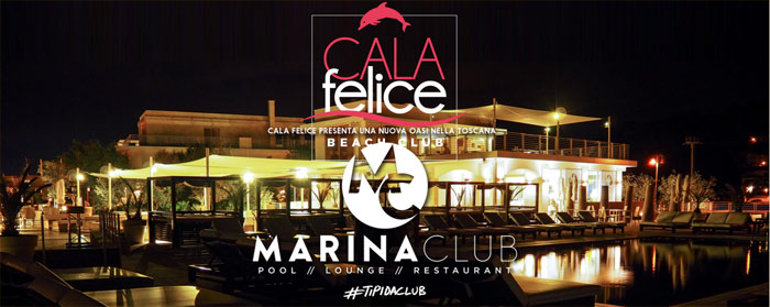 Marina Club Pool & Lounge, Restaurant