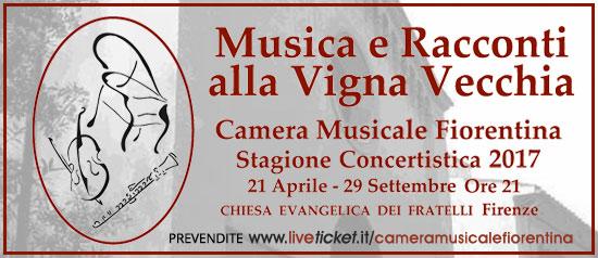 Biglietti per rassegna camera musicale fiorentina for Rassegna camera