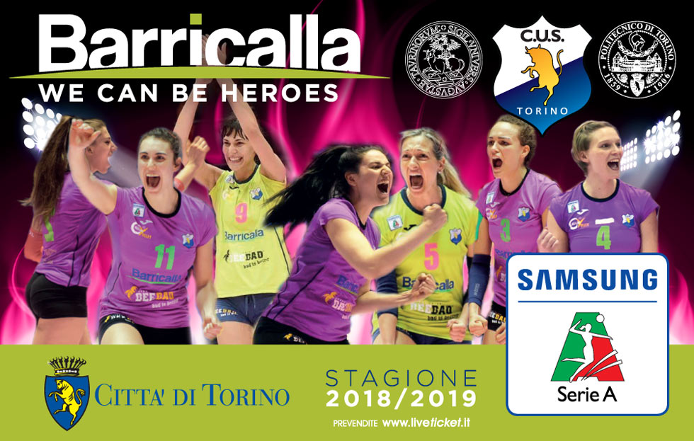 Barricalla Cus Torino Volley