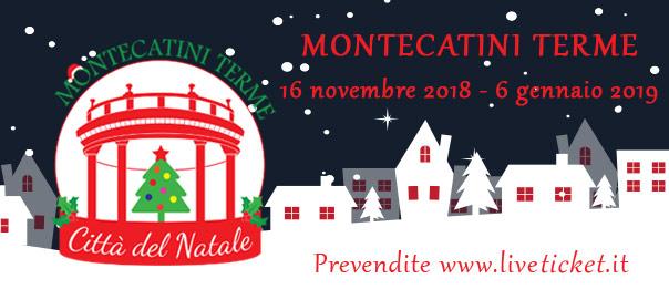 Citta Del Natale Montecatini.Biglietti Per Citta Del Natale