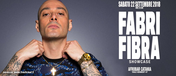 FABRI FIBRA at Afrobar Showcase + After party