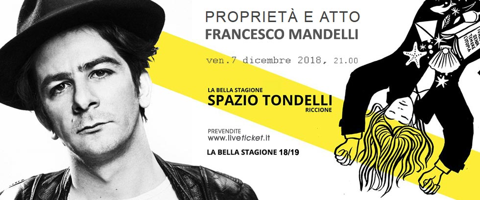 PROPRIETA' E ATTO - FRANCESCO MANDELLI