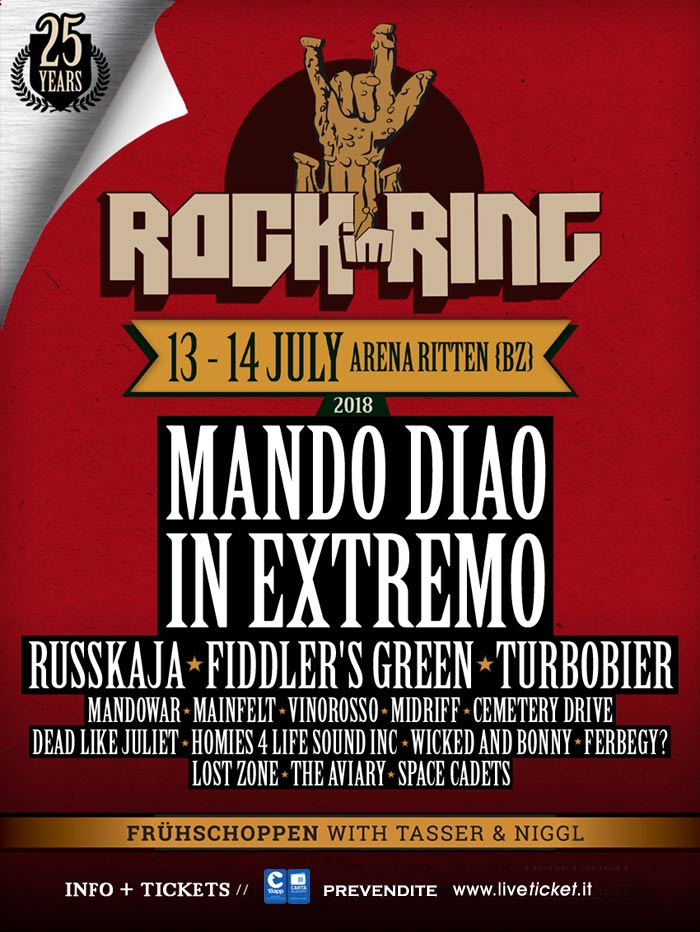 FESTIVAL ROCK IM RING 2018