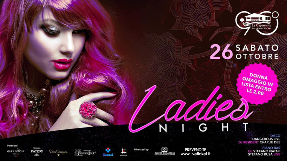 Ladies Night a la Capannina di Franceschi