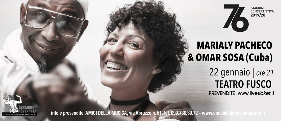 Marialy Pacheco e Omar Sosa in concert