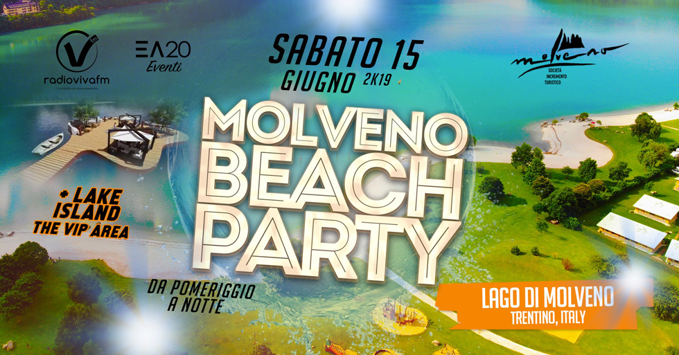 Molveno Beach Party
