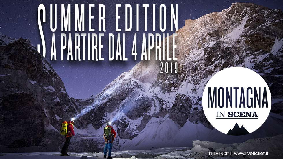 Montagna in scena debutta con la Summer Edition!