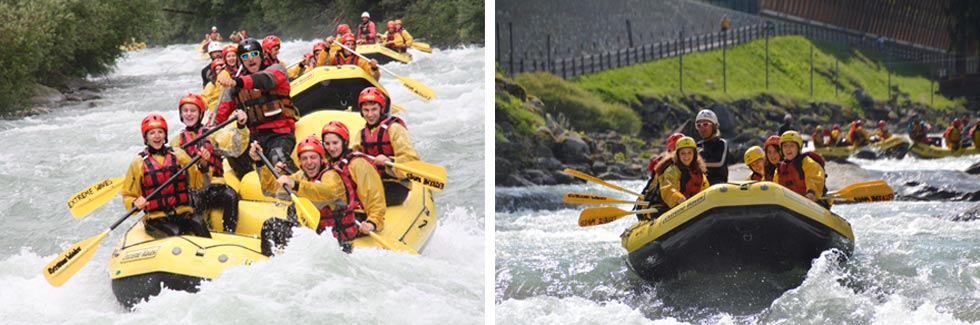 rafting extreme waves