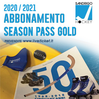 SEASON PASS GOLD - Sandrigo Hockey
