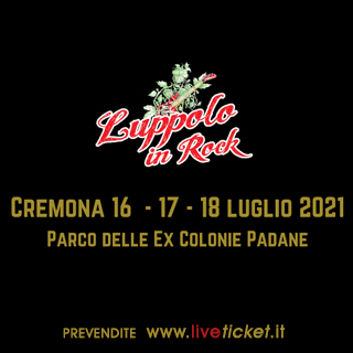 Blind ticket, abbonamento 3 giorni Luppolo in Rock
